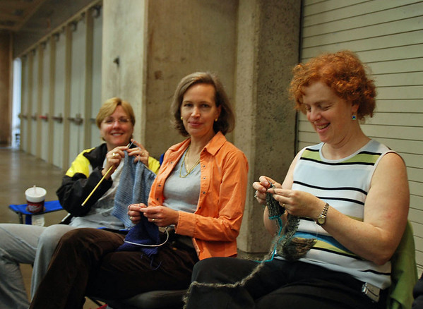 Chevy Chase Fencing Club Knitting Society.