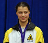 Katharine Holmes, 6th Place in Junior Women's Epee.