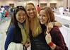 Dina Bazarbayeva, Annie Stephenson, and Lydia Kopecky.
