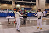 Beth Ward in the Veteran Women's Epee.