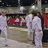 Ben Cohen vs Joe Hoffman in the Division I Men's Epee.  Ben won 5-4.