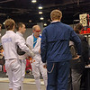 Ben Cohen checking in for his pool in the Division I Men's Epee.