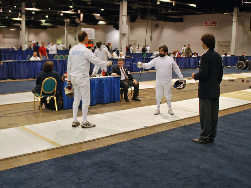 Mark Henry, Division III Men's Epee.