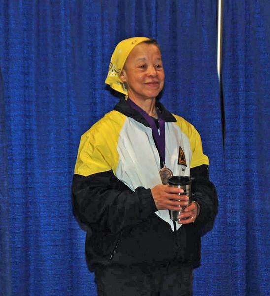 Bettie Graham, 6th Place, Veteran 60+ Women's Foil.