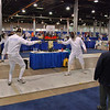 Mark Henry in the Veteran 60+ Men's Epee.