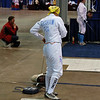 Bettie Graham hooks up in the Division III Women's Epee.