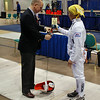 Bettie Graham, Division III Women's Epee.