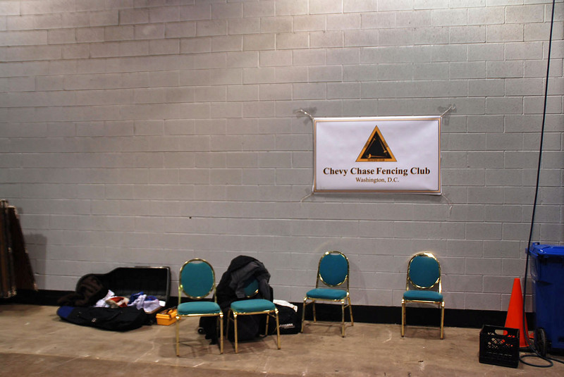 The Chevy Chase Fencing Club home base.