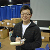 Ethan Chen of Blue Gauntlet Fencing Equipment Company.