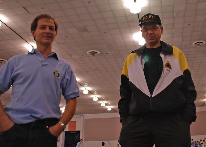 Julian Moiseiwitsch and Raymond Finkleman.