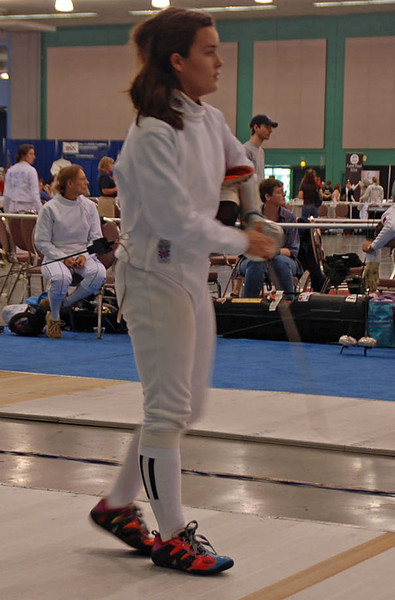 Nina Moiseiwitsch in the Division III Women's Epee.