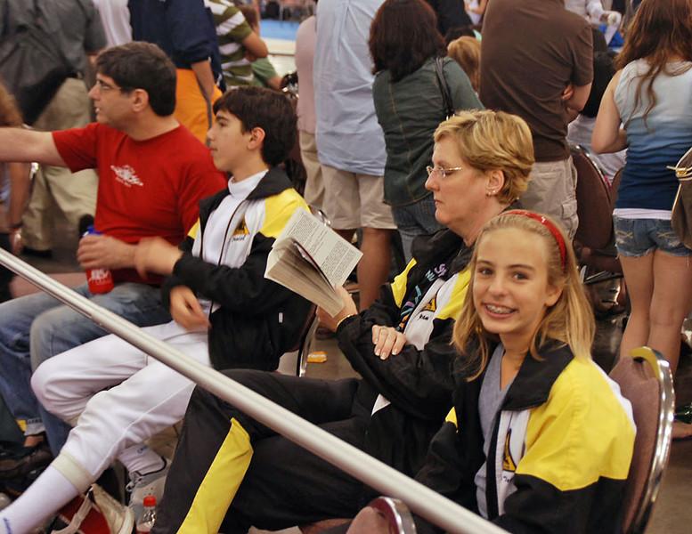 Steve Wiggins, Daniel Wiggins, Jean Finkleman and Olivia Morreale.
