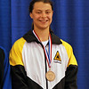 Katharine Holmes, 3rd in Division IA Women's Epee.