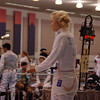Annie Stephenson in the Division IA Women's Epee.