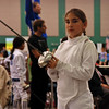 Elizabeth Wiggins in the Youth-10 Women's Epee.