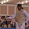 Marcus Howard in the Division IA Men's Foil.