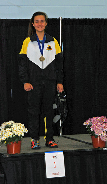 Nina Moiseiwitsch, 1st Place, Division III Women's Epee.