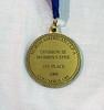 Nina Moiseiwitsch's gold medal.
