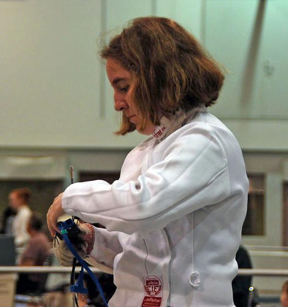 Siobhan Fabio, Division II Women's Epee.