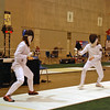 Nina Moiseiwitsch in the Youth-14 Women's Epee.