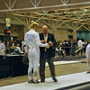 Annie Stephenson in the Cadet Women's Epee.