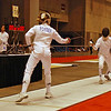 Channing Foster in the Cadet Women's Epee.