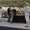 Annie Stephenson in the Division I Women's Epee.