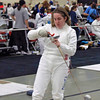 Siobhan Fabio in the Junior Women's Epee.