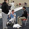 Ben Cohen after placing 32nd in the Junior Men's Epee.