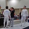 Ben Cohen versus Jonathan Yergler in the Junior Men's Epee.  Ben won, knocking out the #3 seed.