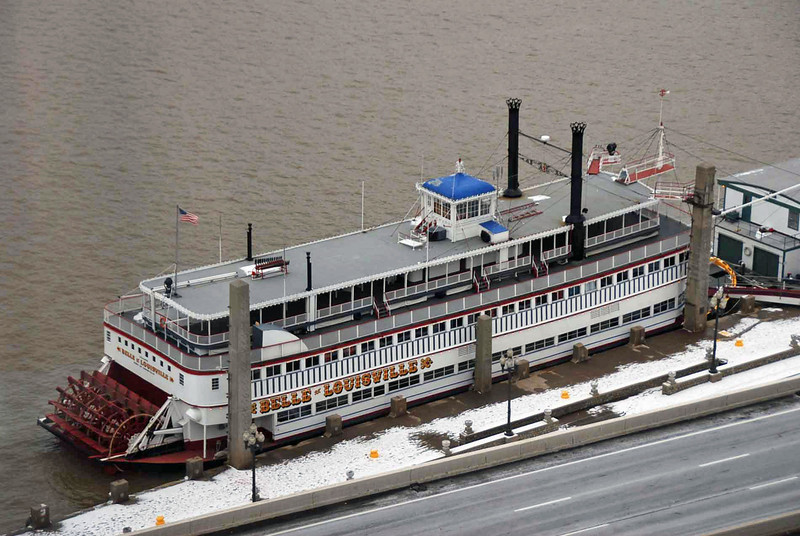 The Belle of Louisville steamboat.