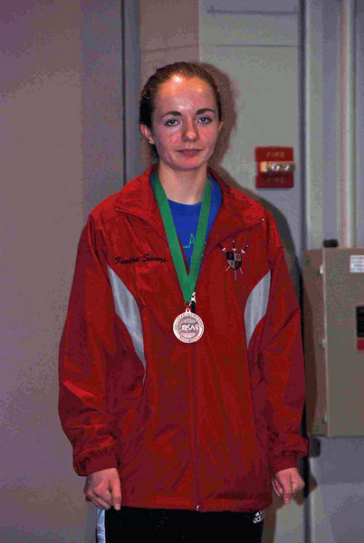 Kendra Sievers of Prince William Fencing Academy (VA Division), 8th place medal in the Division III Women's Epee.