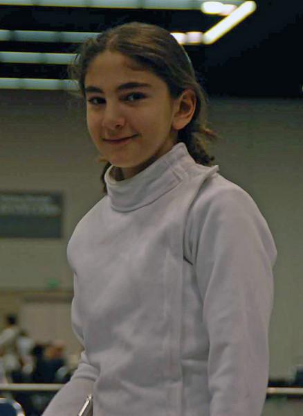 Elizabeth Wiggins, Y10 Women's Epee.