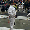 Seth Flanagan in the Y14 Men's Epee.