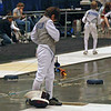 Raphael Sitbon-Taylor hooks up to the reel in the Y10 Men's Foil.