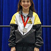 Elizabeth Wiggins, silver medal in the Y10 Women's Epee.