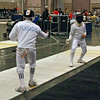 Seth Flanagan in the Y12 Men's Epee.
