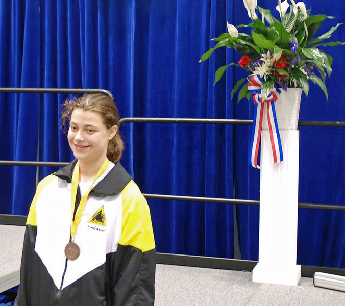 Katharine Holmes, 5th place, Division I Women's Epee.