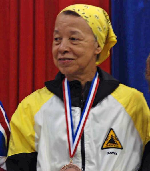 Bettie Graham, 5th place, Veteran-60+ Women's Foil.