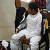 Seth Flanagan before the Y14 Men's Epee.
