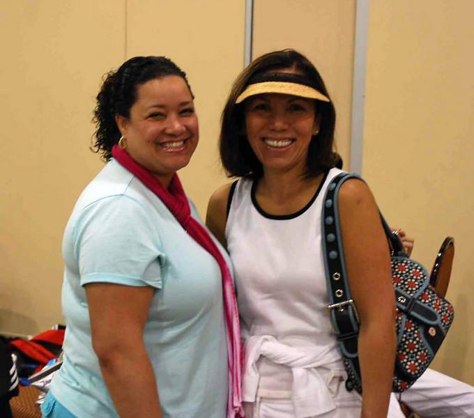 Melanie Carr (left), Seth Flanagan's mom and Rebecca Wiggins (Daniel and Elizabeth Wiggins' mom).