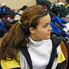 Nina Moiseiwitsch before the U19 Women's Epee.
