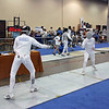 Ella Barnes in the U19 Women's Epee.