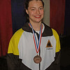Katharine Holmes, 3rd in U19 Women's Epee, 2009 Summer National Championships.