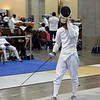 Daniel Wiggins in the Y14 Men's Epee.