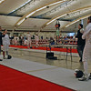 Olimar Maisonet (right) vs Amanda Sirico in the DE of the Division I Women's Epee.