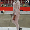 Olimar Maisonet in the Division I Women's Epee.