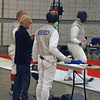 Julian Moiseiwitsch in the DE of the Veteran Combined Men's Foil.