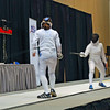 Katharine Holmes vs Isabella Barna in the gold medal bout of Junior Women's Epee.