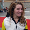 Ella Barnes after placing 5th in Division III Women's Epee.